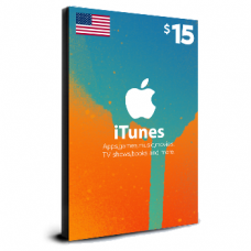 iTunes Card $15 USA