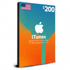 iTunes Card $200 USA