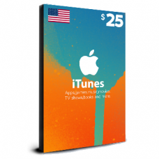iTunes Card $25 USA