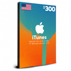 iTunes Card $300 USA