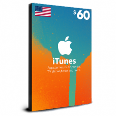 iTunes Card $60 USA
