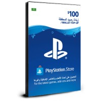 PlayStation Card $100 KSA