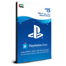 PlayStation Card $15 UAE