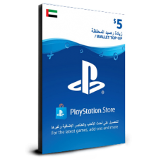 PlayStation Card $5 UAE