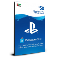 PlayStation Card $50 UAE