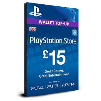 PlayStation Card £15 UK