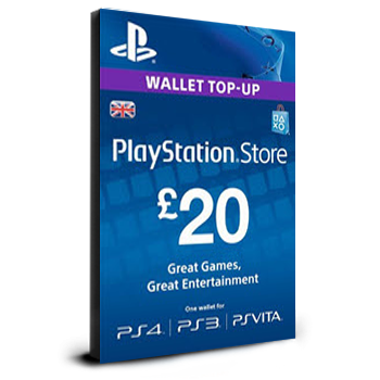 PlayStation Card £20 UK