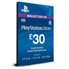 PlayStation Card £30 UK