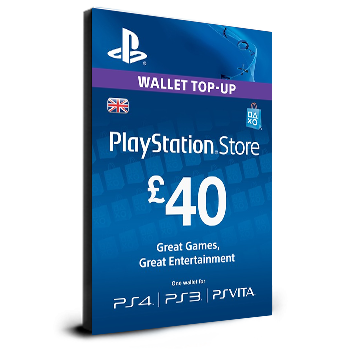 PlayStation Card £40 UK