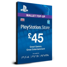 PlayStation Card £45 UK