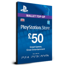 PlayStation Card £50 UK