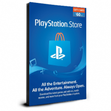PlayStation Card $60 USA