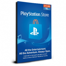 PlayStation Card $75 USA