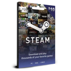 Steam Card $10