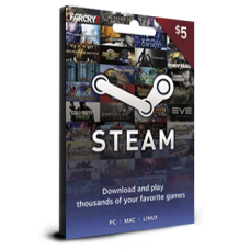 Steam Card $5