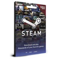 Steam Card $50