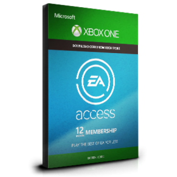 EA Access 12 Months Subscription - Xbox One